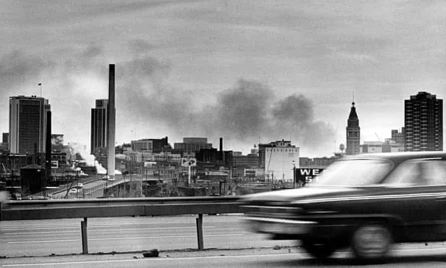 Air pollution, Denver, January 1970.