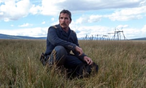 'A monument of machismo' ... Christian Bale in Hostiles