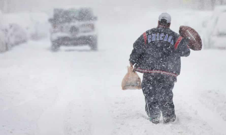 Image result for blinding snowstorm in chicago