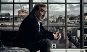 Howard Jacobson, photographed at home in central London