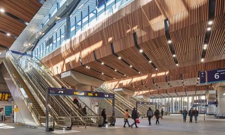 Renovated London Bridge Station, by Grimshaw Architects.