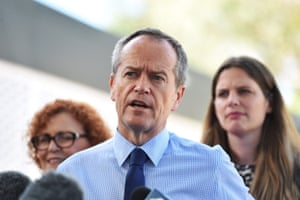 Leader of the Opposition, Bill Shorten speaks at a press conference after visiting Heatley State Primary School as part of the 2016 election campaign in Townsville, Australia, 10 May 2016. Australia will hold federal elections on 02 July 2016.