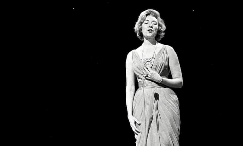 Vera Lynn performing in 1962.