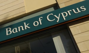 Bank of Cyprus branch in Nicosia