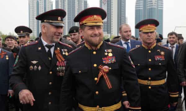 Chechnya's strongman leader Ramzan Kadyrov