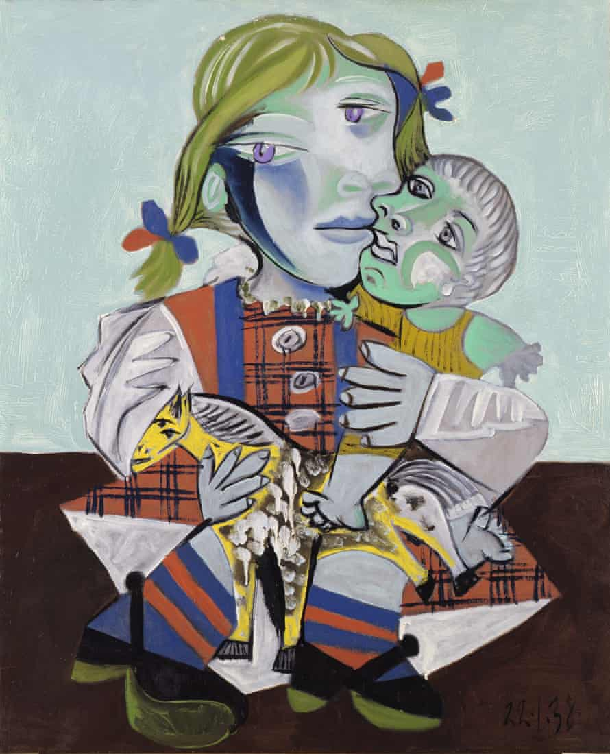 Maya with a Doll and a Wooden Horse (1938), by Picasso.
