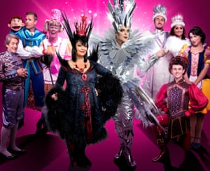 Snow White cast at the London Palladium