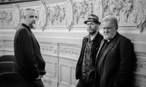 Creative tension … Mat Maneri, Lucian Ban and Evan Parker