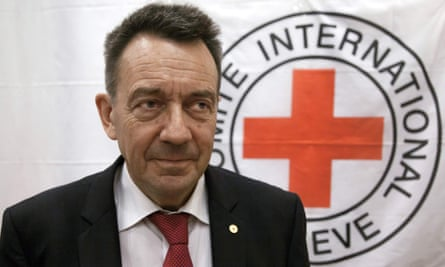 President of the International Committee of the Red Cross, Peter Maurer
