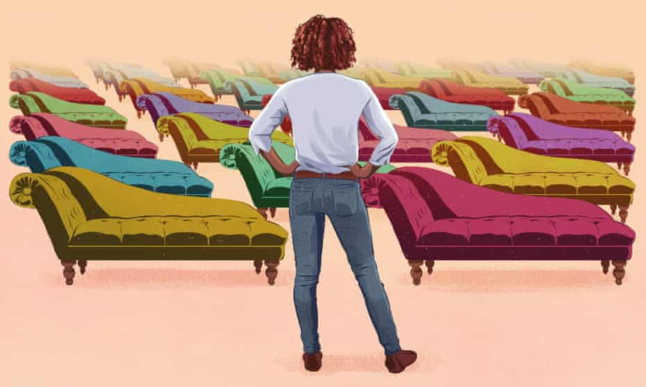 Does your therapist have to share the same background to 'get' you?