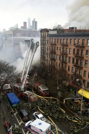New York City firefighters