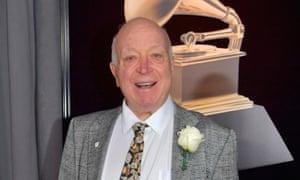Seymour Stein at this year's Grammy awards.