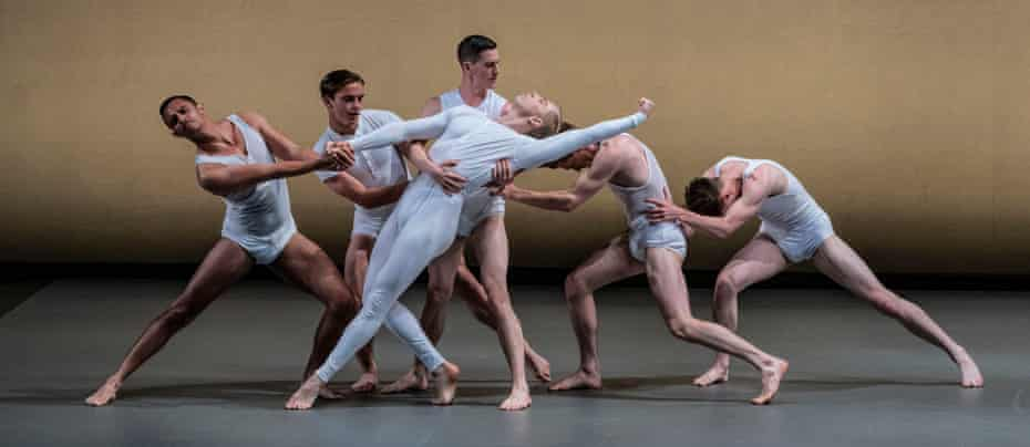 Matthew Bourne's New Adventures performed Spitfire at the British Ballet Charity Gala presented by Bussell.