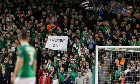 FAI funding suspended by Sport Ireland amid concerns over Delaney loan