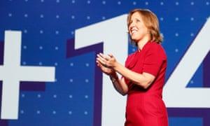 Susan Wojcicki, YouTube CEO.
