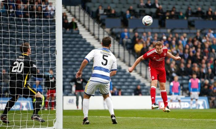 Adam Rooney segíti az Aberdeen-t a kupa döntőjében, hogy megnyerje a Mortont
