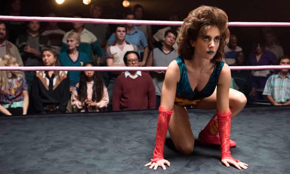 Round 1: as Ruth Wilder in the Netflix series Glow.