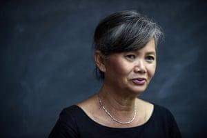 Cambodia National Rescue party deputy leader Mu Sochua: 'I really do not feel safe.'