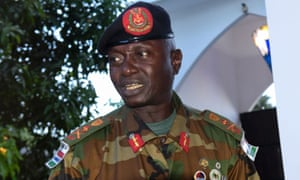 Gambian army chief Ousman Badjie has reaffirmed his loyalty to President Yahya Jammeh, despite the threat of a regional military intervention if the strongman refuses to step down