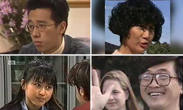 اعضای خانواده لیم ، اولین شخصیت های غیر سفید پوست در همسایه ها.