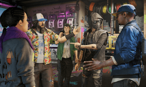 WatchDogs 2's Dedsec hacker group provides an interesting array of characters, bringing humanity to the action structure
