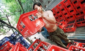 Coca-Cola is selling its Chinese bottling interests to Hong Kong and state-owned companies.