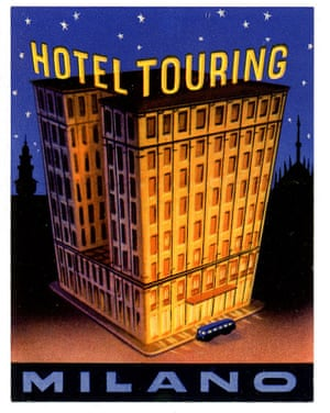 Milano Touring HotelA 1930s label. The Milano Touring Hotel opened its doors in 1926 after being commissioned by the Touring Club Italiano (an Italian tourist organization). Milan's historic park and gardens, Giardino Pubblici Indro Montanelli, is yards away.