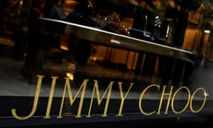 Jimmy Choo store in New York.