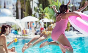 The weaker pound has reduced the spending power of UK holidaymakers abroad.