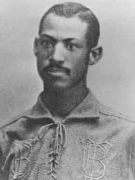 In 1884, Moses Fleetwood Walker became the first Black player to play in the major leagues