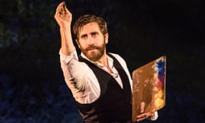 Jake Gyllenhaal in Sunday in the Park With George.