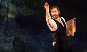 'London's West End is special to me' ... Jake Gyllenhaal in Sunday in the Park With George, Stephen Sondheim's musical, now postponed.