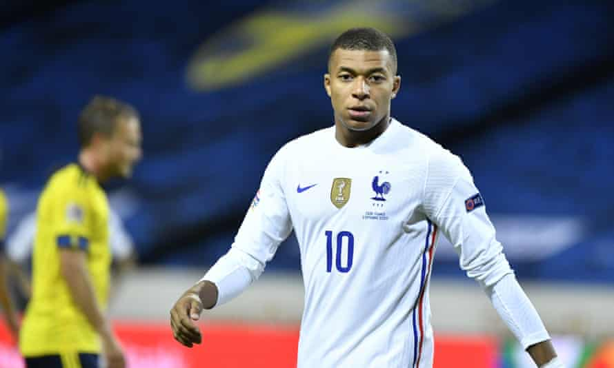 Kylian Mbappé will miss France's next Nations League game and PSG's opening Ligue 1 fixture against Lens.
