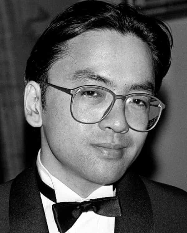 Ishiguro, pictured at the Booker prize in 1989, when he won for The Remains of the Day.
