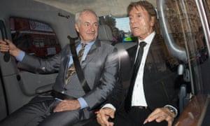 Paul Gambaccini and Sir Cliff Richard