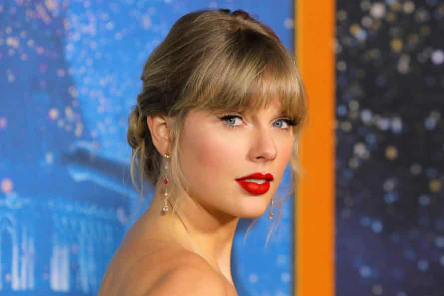 Taylor Swift, pictured in December 2019.