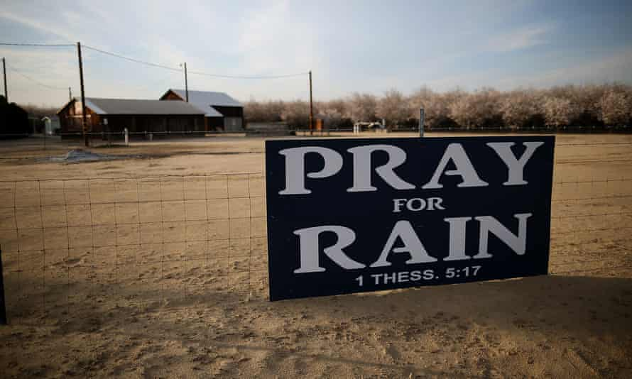 In California, a five-year drought followed by heavy rainfall caused record flooding, landslides and erosion.