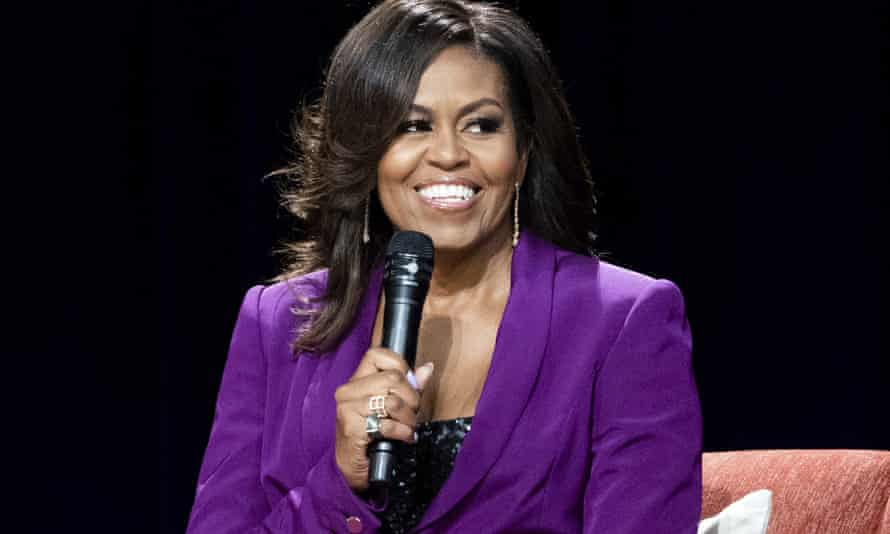 Michelle Obama: 'Barack and I never want to experience winter again.'
