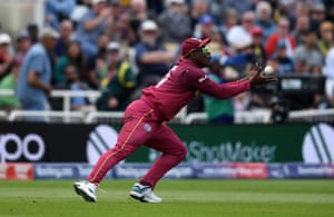 Sheldon Cottrell takes the catch.