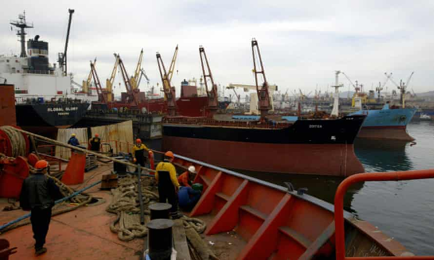 Tuzla, a largely working-class shipbuilding district in Istanbul, Turkey.