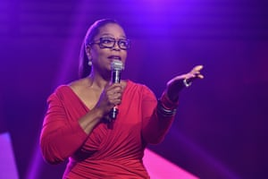 The real deal … Oprah.