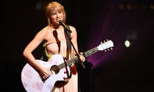 Swift performing at the TIME 100 gala dinner in New York on 23 April.