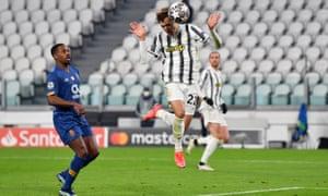 juventus'tan federico chiesa, takımın ikinci golünü attı.