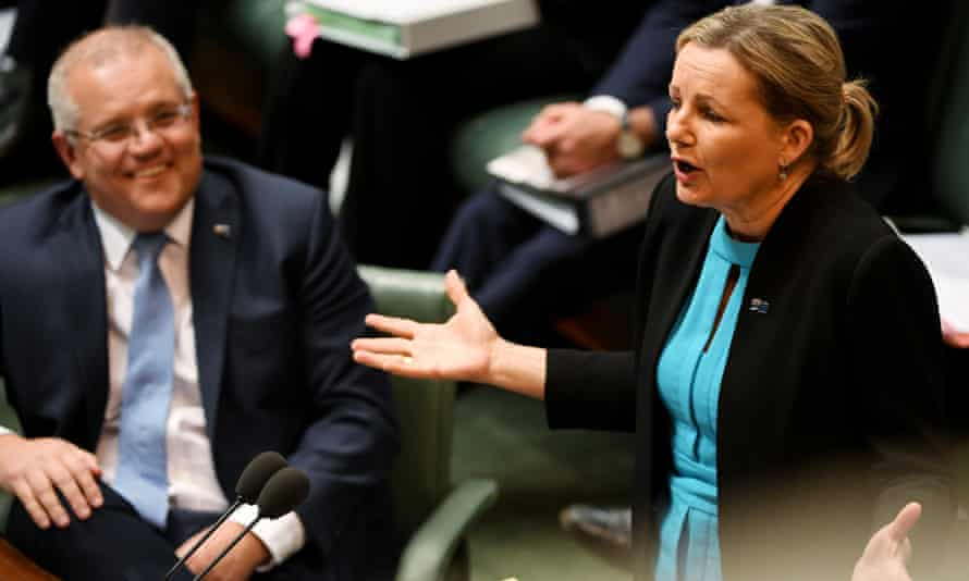 Scott Morrison and Sussan Ley