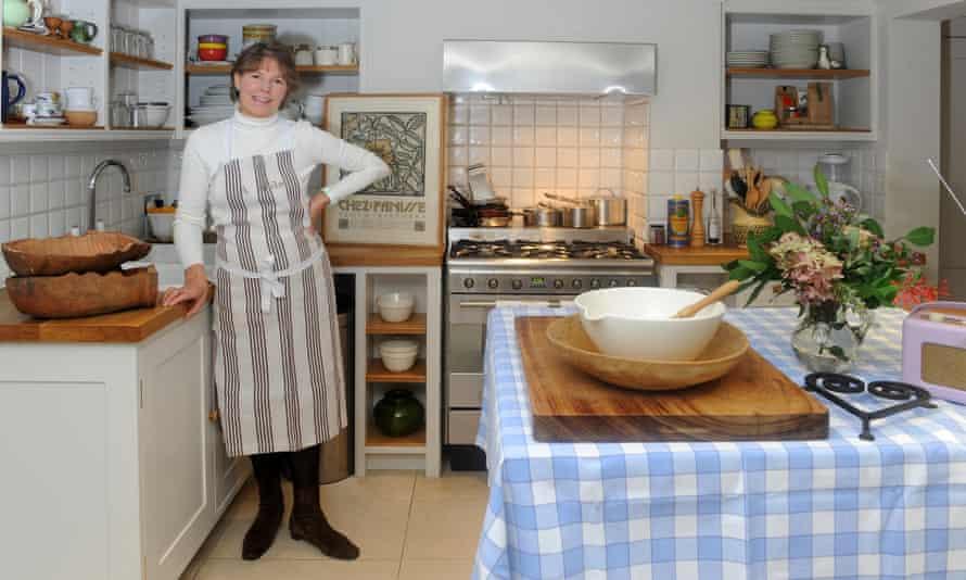 Sally Clarke in her kitchen