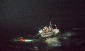 Coastguard officers rescue man from waters