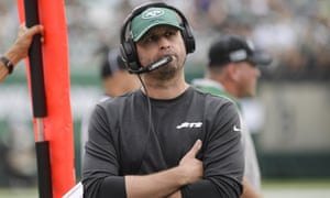 New York Jets head coach Adam Gase has looked out of his depth for most of the season