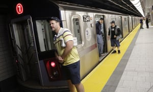 New York's transit authority is assessing a response to a court order which would allow an advert promoting a film about Muslim comedians on the subway.