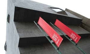 The Met Breuer, the Metropolitan Museum of Art's new space dedicated to modern and contemporary art, with its new logo to the fore.