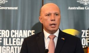 Australia's home affairs minister Peter Dutton has attacked Anthony Albanese over his criticism of the Australian federal police raids on two media organisations.